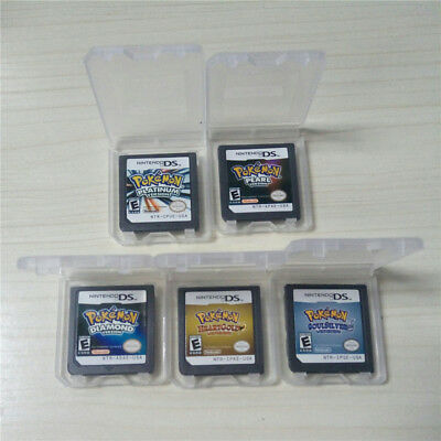Pokenmon Game Card Diamond/Soul Silver/Heartgold Version for DS/NDS/NDSL