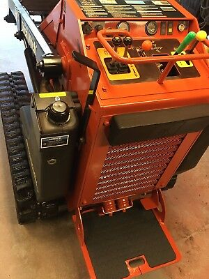 Mini Skid Steer Ditch Witch SK650 Walk behind (Tach is Toro Dingo Vermeer Boxer)