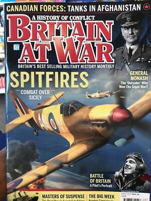 Britain At War Magazine August 2018.  Spitfires
