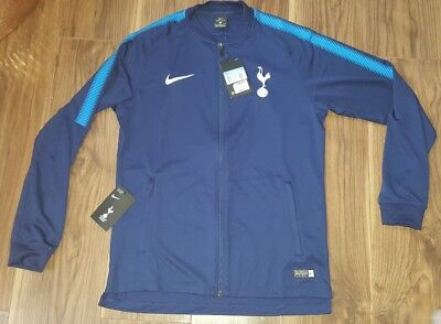 Nike Tottenham Hotspur Training Squad Knit Track Jacket 2018/19 - Blue - Mens