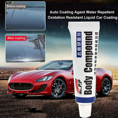 with Sponge Brush MAGIC Eraser Paste Car Scratch Remover Body Compound Wax