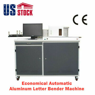 USA-220V Economical Automatic Channel Letter Fabrication Bender Machine