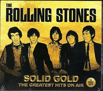 The Rolling Stones~Solid Gold The Greatest Hits On Air~BRAND NEW 2 CD SET