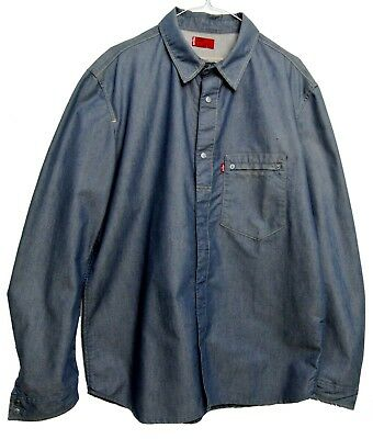 Camicia Jeans Levi's Engineered 60585 Tg.l Cj58