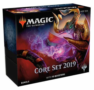 MAGIC MTG Core Set 2019 M19 BUNDLE (FAT PACK BOX KIT) FREE PRIORITY SHIP FAST!