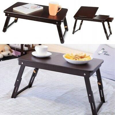 HOMFA Ajustable Dinner Bed Table Laptop Working Desk Fortable Stand Tray Home AU
