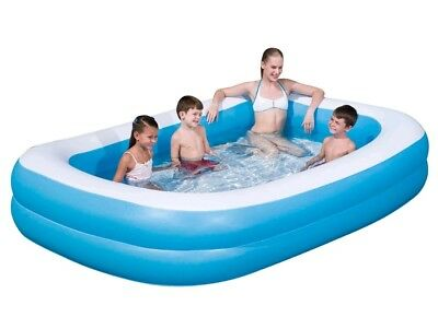 Bestway 103 Large Rectangular Inflatable Swimming Pool Family Paddling NEXT DAY
