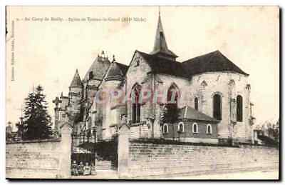 CPA Camp de Mailly Eglise de Trouan le Grand (12eme)