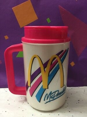 McDonald's Thermo Mug Insulated Hot Cold Travel Cup Coca-Cola Whirley Thermos