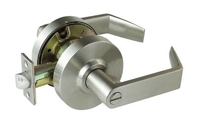 Heavy Duty Privacy Satin Chrome Grade 2 Commercial Door Lock  for Left or Right