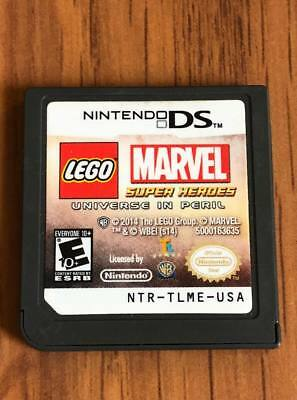 LEGO Marvel Super Heroes - Universe in Peril (Nintendo DS, 2013) Cart Only!
