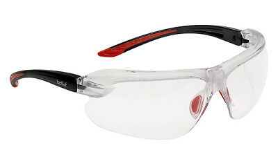 Bolle IRI-s Platinum Clear Bifocal Reading Area +1.5, 2, 2.5 or 3 Safety Glasses