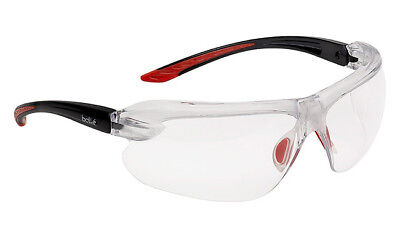 Bolle IRI-s Platinum Clear Bifocal Reading Area +2.5 Safety Glasses (IRIDPSI2-5)