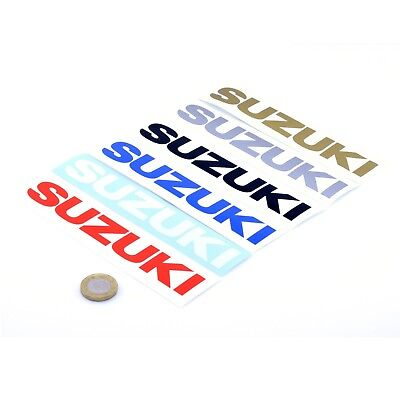 Suzuki Stickers Decal Vinyl Motorbike 150mm x2 Motorcycle Tank Fairing