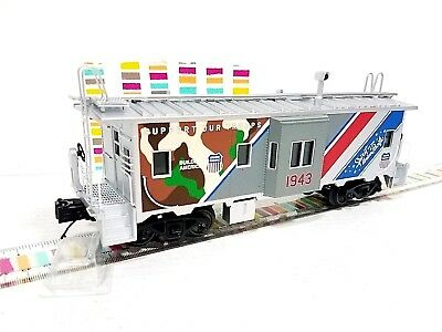 mth trains 20 91631 union pacific spirit bay window caboose o scale