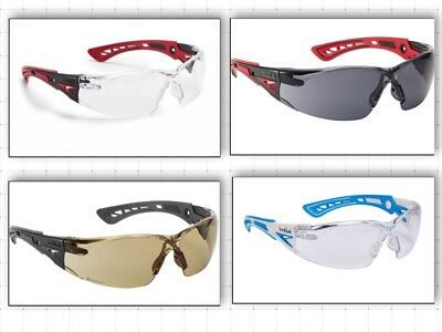 Bolle Rush Plus Safety / Cycling Spectacle Glasses Stylish Anti Fog + Scratch