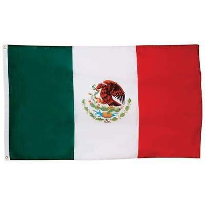 Mexico Mexican Flag 5x3 ft with Grommets