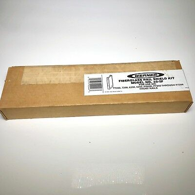 Werner Fiberglass Rail Shield Kit Model 22-2F - NEW
