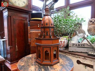 "A Stunning Large Vintage Style ""duomo Due"". Architectural Wooden Model"