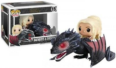 Funko Pop! Rides 15 Game of Thrones Daenery Drogon Vinyl Action Figure Pop