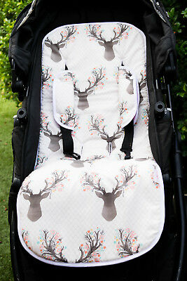 Universal Reversible Pram Liner also Fit Strollers/Rockers/High Chairs &Trolleys