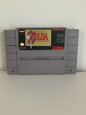 Super Nintendo The Legend of ZELDA Game!! Cleaned and Tested!!!