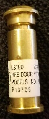 Fire Door Viewer Model A800 Peephole UL Listed R13709 Glass Lens 73S8 New