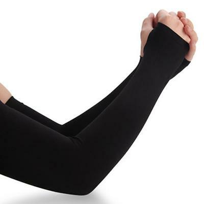 UPF 50+UV Sun Protection Ice Silk Arm Cuff Sleeves Outdoor Cycling Sports Travel