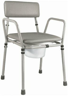Essex Height Adjustable Unassembled Commode eligible For Vat Relief In The Uk