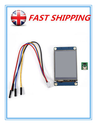 "Nextion HMI 2.4"" TFT 320x240 Touch Screen LCD Display Fr Arduino Raspberry Pi JR"