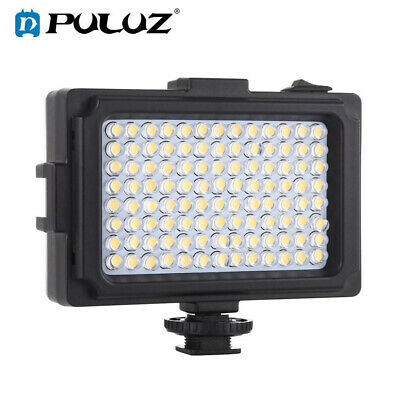 96LED Video Light Photo Camera Hot Shoe Dimmable LED Lamp For Camcorder DV AAA