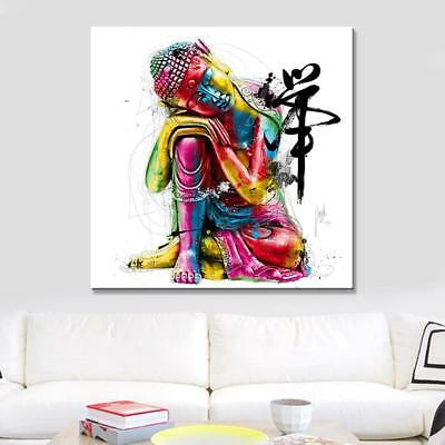 Buddha Canvas Painting Wall Art Abstract Modern Home Decor Living Room Poster