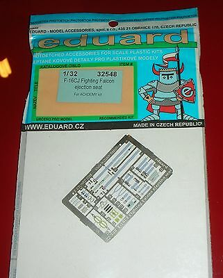 EDUARD 1/32 REF. 32548  F-16CJ Fighting Falcon Ejection Seat For ACADEMY kit