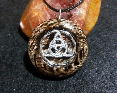Triquetra Pendant,Pagan,Wiccan,Spiritual,Celtic Knot,Power of Three,Trinity Knot