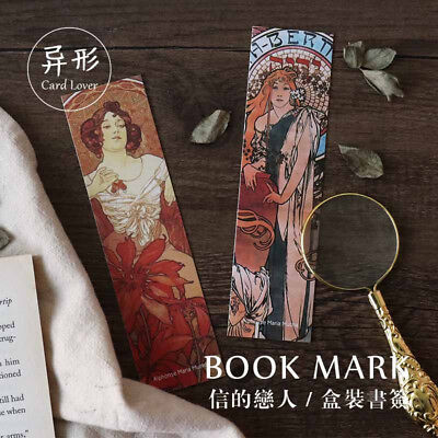 Retro 30pc/Box Beautifully Bookmark Book Mark Magazine Note Label Memo School
