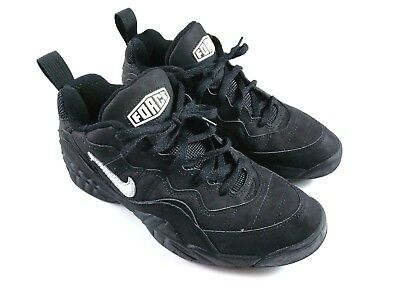 new style aa937 8f2ef VTG 1995 Nike Air Tenacity Low Mens 9 Basketball Shoes Force Black 130233  011
