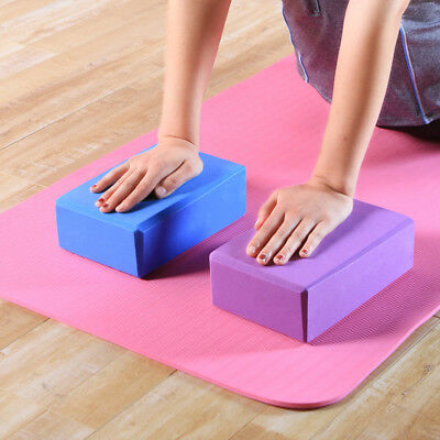 Yoga Block Brick Foaming Foam Home Exercise Stretching Body Fitness Tool lot CR