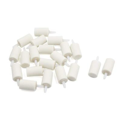 Uxcell 20Pcs 2Cm X 3Cm Ceramic Cylinder Air Bubble Stone Oxygen Diffuser For