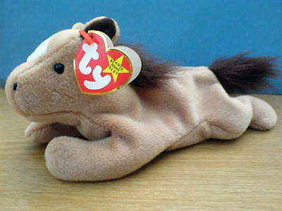 0240ace8895 DERBY THE HORSE With Tag TY Beanie Baby Babies - £3.00