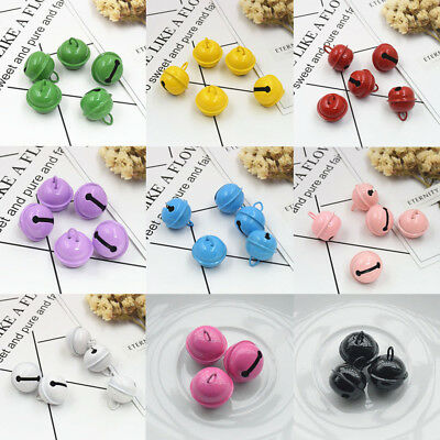 New 22MM Candy Color Little Bells Christmas Pet Paint Small Bell Accessories