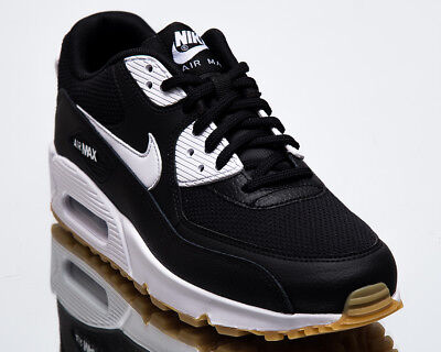 019c81840c Nike Wmns Air Max 90 Women New Black White Gum Lifestyle Sneakers 325213-055