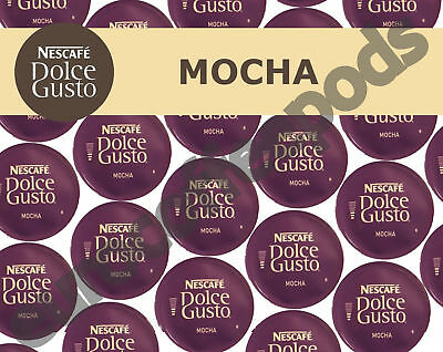 Nescafe Dolce Gusto Mocha Chocolate and Milk Pods 20,40,60,80,100 Capsules