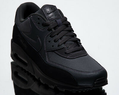 Nike Air Max 90 Essential Men New Black Anthracite Lifestyle Sneakers AJ1285-009