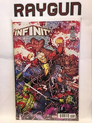 Infinity Countdown #5 Bradshaw Variant Cover NM- 1st Print Marvel Comics