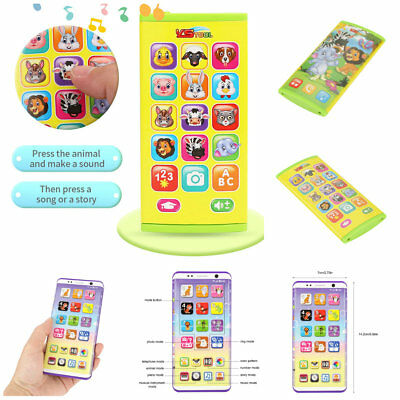 Child Simulator Music Smart Phone Touch Screen Educational Learning Baby Toy Gif