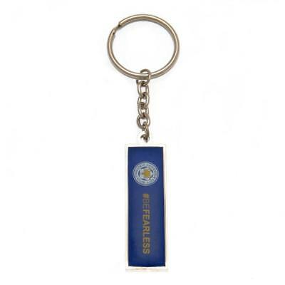 LEICESTER CITY FC Keyring  #BeFearless OFFICIAL LICENSED  MERCHANDISE GIFT