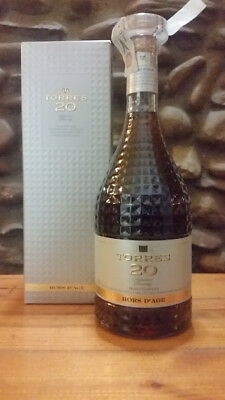 Torres Superior Brandy 20 Years Old 40% Vol 70 Ml Hors D'age Spagnolo