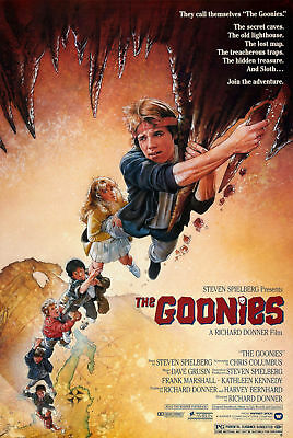 187648 The Goonies (1985) Movie spielberg classic Decor Wall Print Poster