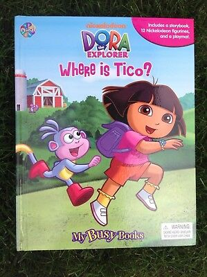 Details About Dora The Explorer Where Is Tico Busy Book