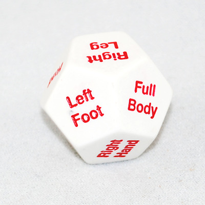Body Parts Jumbo Extra Lge Dice 4p Teacher Resource Anatomy Games Learning Kids